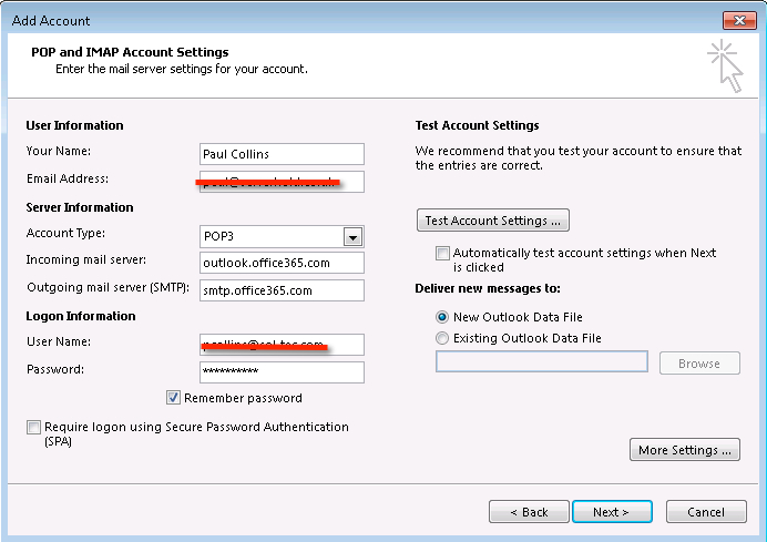 Exceptional ... Office 365 Password. Blog7