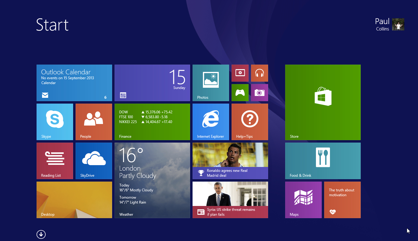 is there a windows 8 1